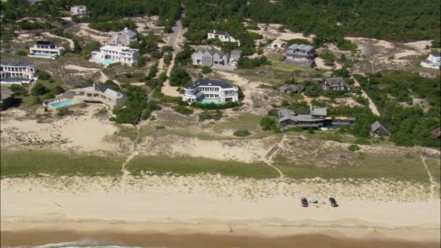 napeague coastline - long island stock videos & royalty-free footage