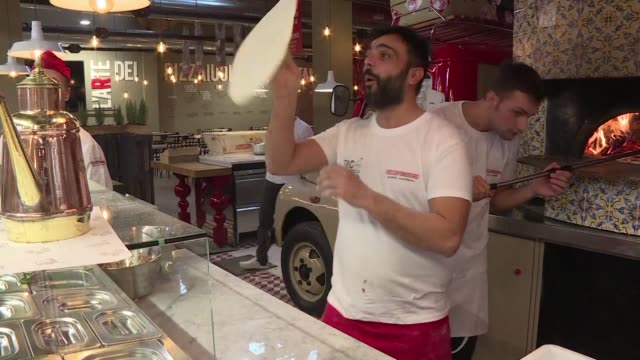 naples art of pizza twirling is a candidate to join unesco's list of intangible heritage next week along with a wealth of other cultural treasures... - unesco stock videos & royalty-free footage