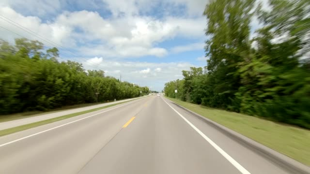 naples florida xiv synced series front view driving process plate - naples florida stock videos & royalty-free footage