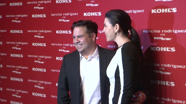 narciso rodriguez and julianna margulies at kohl's celebrates the launch of narciso rodriguez for designation with exclusive collection premiere at... - exklusiv stock-videos und b-roll-filmmaterial