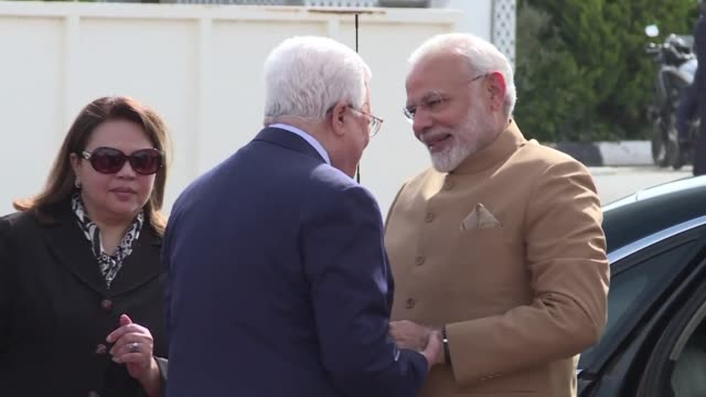 Narendra Modi becomes the first Indian prime minister to visit the occupied West Bank for talks with Palestinian president Mahmud Abbas as part of a...
