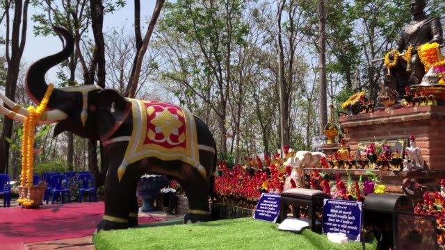 naresuan, phitsanulok - temple body part stock videos and b-roll footage