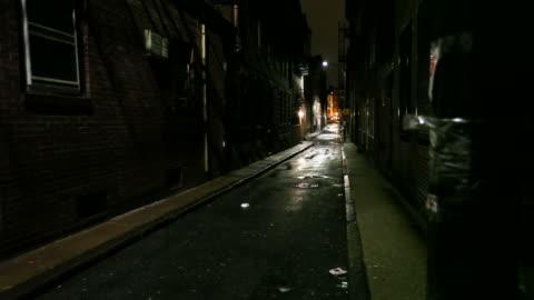 細い街 street - 路地点の映像素材/bロール