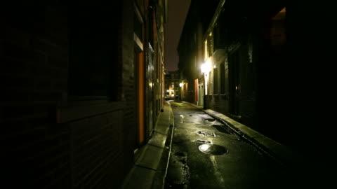 narrow city street - narrow stock videos & royalty-free footage