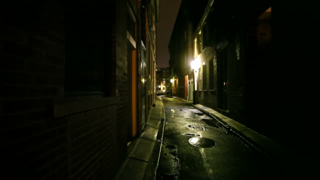 narrow city street - alley stock videos & royalty-free footage