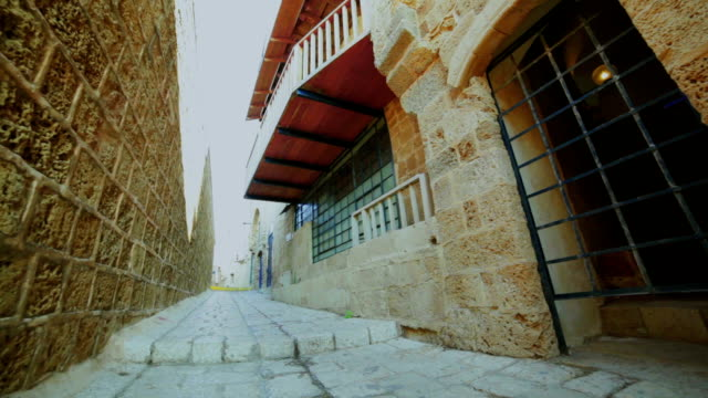 narrow street in old city - narrow stock videos and b-roll footage