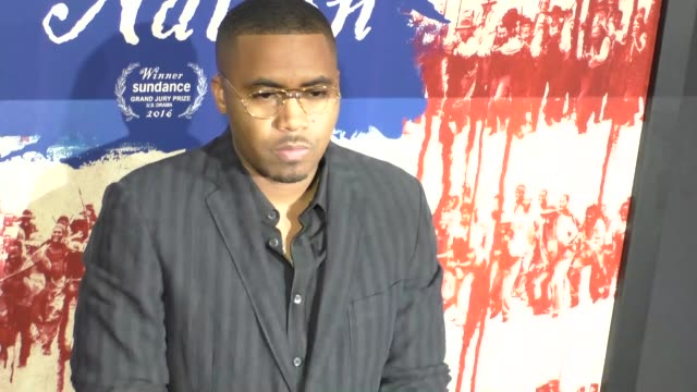 Nas at The Birth Of A Nation Premiere Presented By Fox Searchlight at ArcLight Cinemas Cinerama Dome on September 21 2016 in Hollywood California
