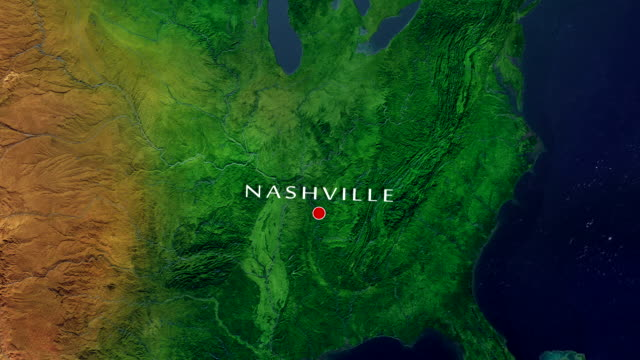nashville 4k zoom in - nashville stock videos and b-roll footage