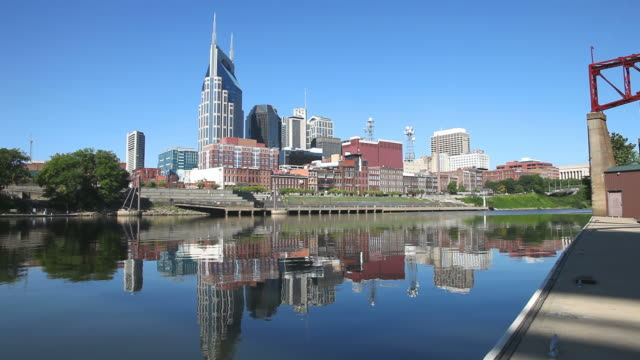 nashville, tennessee - tennessee video stock e b–roll