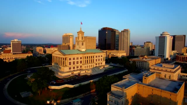 nashville, tn courthouse - tennessee stock videos & royalty-free footage