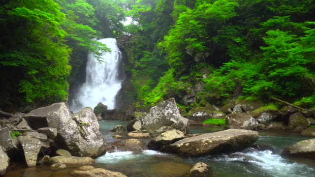 nasono shirataki falls - waterfall stock videos & royalty-free footage
