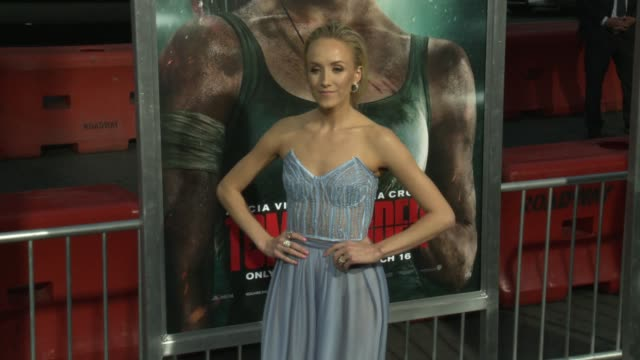 Nastia Liukin at the 'Tomb Raider' Premiere at TCL Chinese Theatre on March 12 2018 in Hollywood California