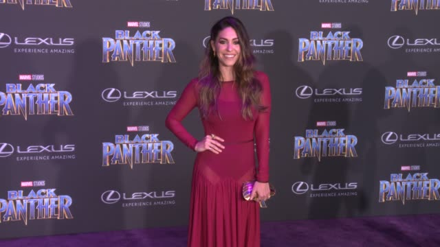 Natalia CordovaBuckley at the Marvel Studios' 'Black Panther' World Premiere at Dolby Theatre on January 29 2018 in Hollywood California