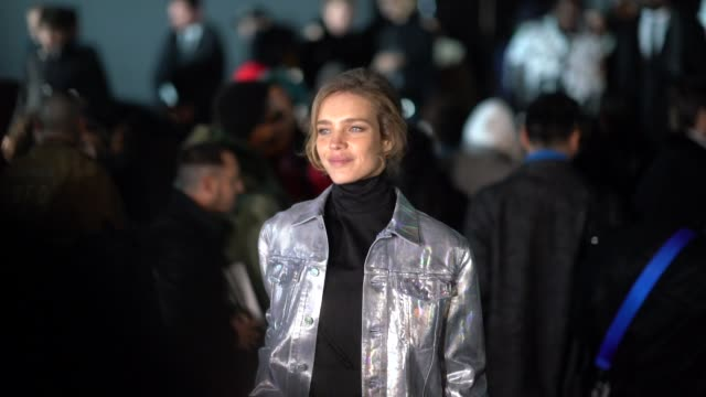 Natalia Vodianova attends the Dior show during Paris Fashion Week Menswear F/W 20192020 on January 18 2019 in Paris France