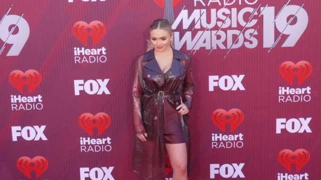 Natalie Alyn Lind at the 2019 iHeartRadio Music Awards at Microsoft Theater on March 14 2019 in Los Angeles California