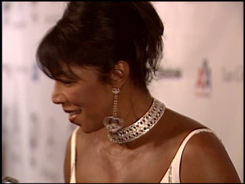 natalie cole at the carousel of hope gala at the beverly hilton in beverly hills california on october 23 2004 - carousel of hope stock videos and b-roll footage