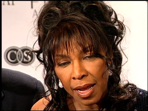 Natalie Cole at the Sir Elton John's An Unforgettable Evening at the Regent Beverly Wilshire Hotel in Beverly Hills California on March 26 2002