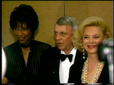 Natalie Cole at the Various Events with Frank Sinatra on January 1 1993