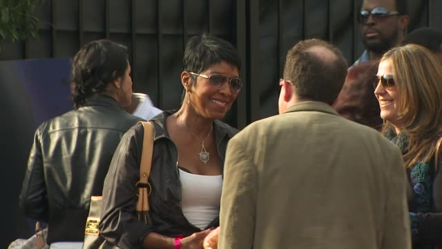 natalie cole at the we are the world 25th anniversary recording for haitian earthquake relief at los angeles ca - 25th anniversary stock videos and b-roll footage