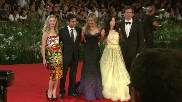 Natalie Dormer Oscar Isaac Abbie Cornish Andrea Riseborough James D'Arcy at the WE Premiere Venice Film Festival 2011 at Venice