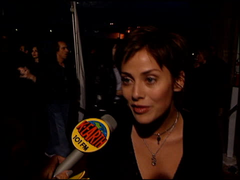 natalie imbruglia at the 'go' premiere at the cinerama dome at arclight cinemas in hollywood california on april 7 1999 - cinerama dome hollywood stock videos and b-roll footage