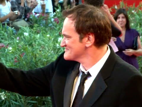 natalie portman and jury head quentin tarantino shared the red carpet wednesday as the prestigious venice film festival kicked off with the screening... - darren aronofsky stock videos and b-roll footage