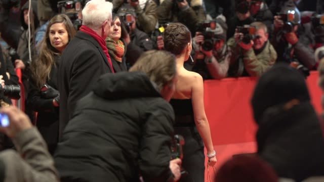 SLOMO Natalie Portman at 'Knight of Cups' Red Carpet 65th Berlin Film Festival at Berlinale Palast on February 08 2015 in Berlin Germany