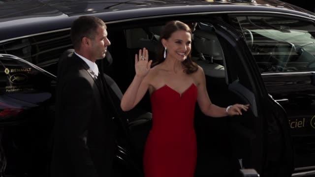 SLOMO Natalie Portman at Opening Ceremony 'La Tete Haute' Red Carpetat Palais des Festivals on May 13 2015 in Cannes France