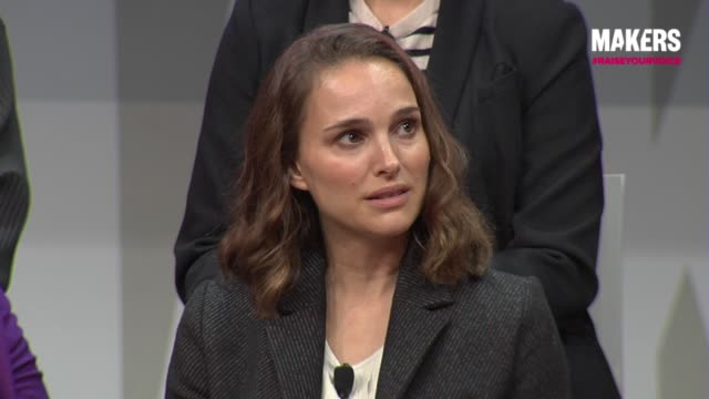 INTERVIEW Natalie Portman at The 2018 MAKERS Conference Day 1 at NeueHouse Hollywood on February 5 2018 in Los Angeles California