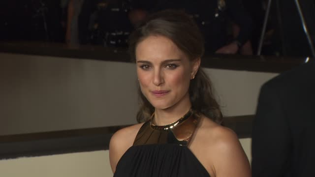 natalie portman at the 63rd annual directors guild of america awards at hollywood ca. - アメリカ監督組合点の映像素材/bロール