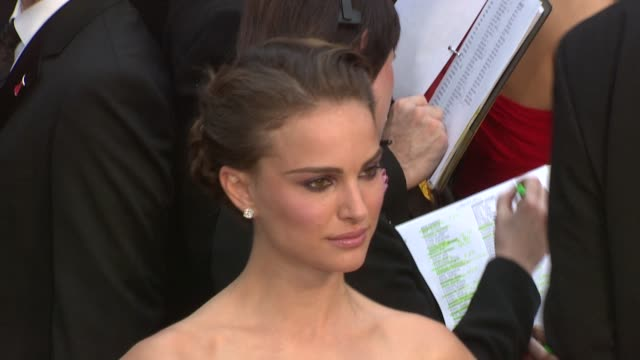 Natalie Portman at the 81st Academy Awards Arrivals Part 6 at Los Angeles CA