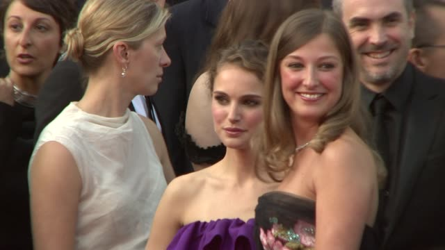 natalie portman at the blindness screening at the palais in cannes on may 14 2008 - film screening stock videos & royalty-free footage
