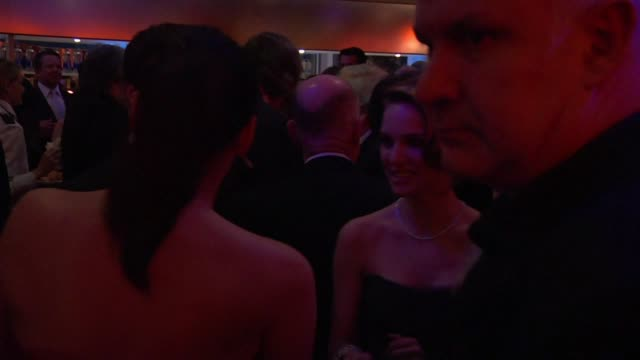 natalie portman at the inside the vanity fair oscar party 2010 at west hollywood ca - oscar party stock videos & royalty-free footage