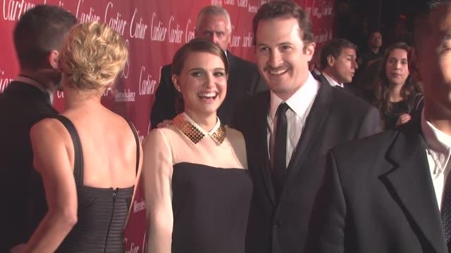 Natalie Portman Darren Aronofsky at the 22nd Annual Palm Springs International Film Festival Awards Gala at Palm Springs CA