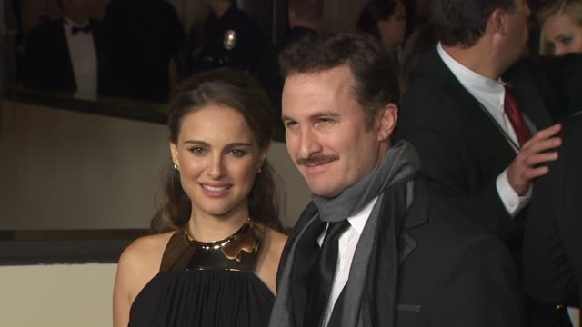 natalie portman darren aronofsky at the 63rd annual directors guild of america awards at hollywood ca - darren aronofsky stock videos and b-roll footage