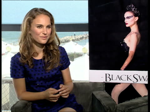 Natalie Portman on maintaining privacy on how acting is about imperfections at the Black Swan Interviews 67th Venice Film Festival at Venice