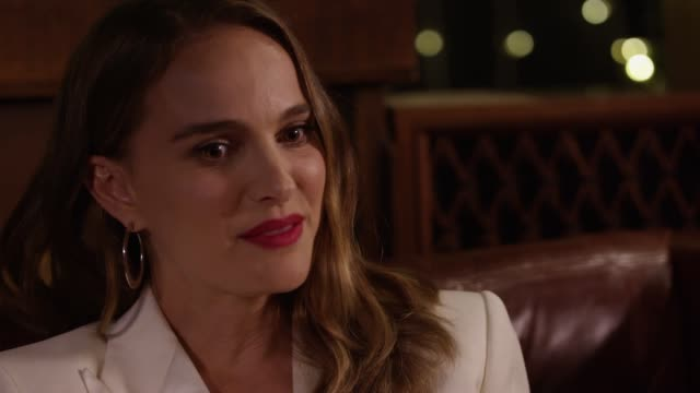 Natalie Portman on the challenge of protecting her private life while promoting things she cares about to the public Portman stars in the film Vox...