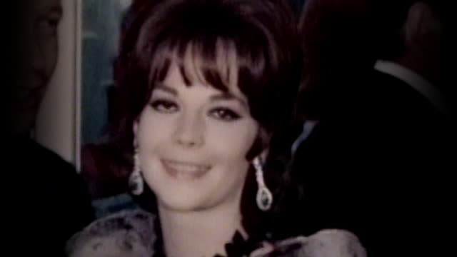 Natalie Wood at 'Who's Afraid of Virginia Woolf' Movie Premiere slow motion and real time clips