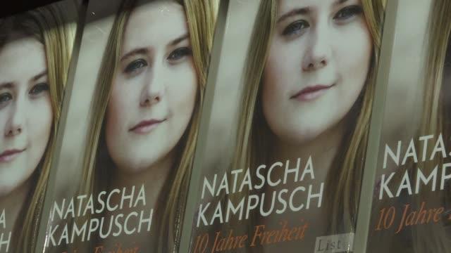 natascha kampusch que escapo del hombre que la secuestro cuando era una nina y la mantuvo cautiva durante ocho anos narra en un nuevo libro su... - narrating stock videos & royalty-free footage