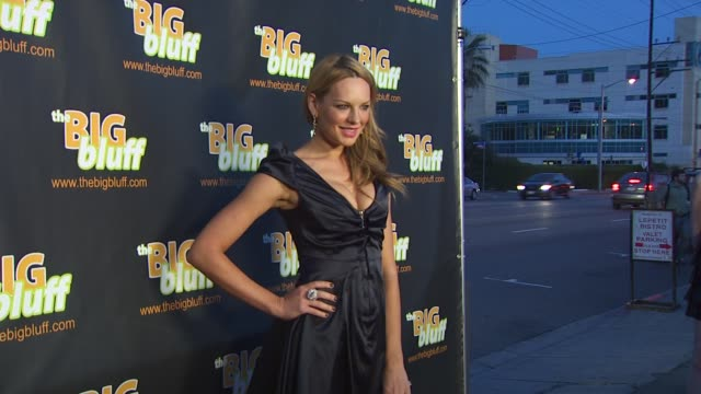 Natasha Alam at the The Big Bluff Online Triva Game Launch Hosted By Perez Hilton at Los Angeles CA