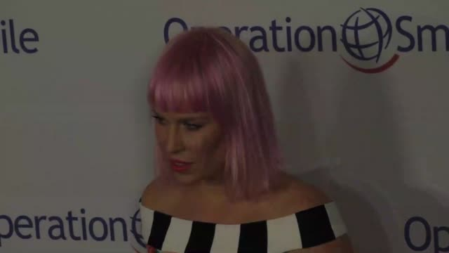 Natasha Bedingfield at Operation Smile's 2015 Smile Gala at The Beverly Wilshire Hotel in Beverly Hills at Celebrity Sightings in Los Angeles on...