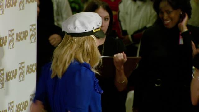 natasha bedingfield at the ascap's 25th annual pop music awards at the kodak theatre in hollywood california on april 9 2008 - natasha bedingfield stock videos & royalty-free footage