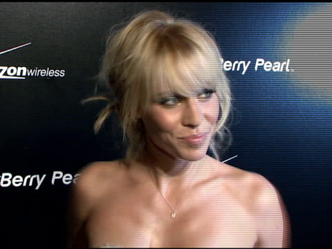 natasha bedingfield at the blackberry pearl 8130 launch party at the iac building in new york, new york on january 30, 2008. - electronic organiser stock videos & royalty-free footage