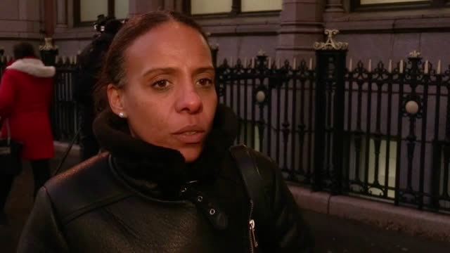 Natasha Elcock who was a resident on the 11th floor of Grenfell Tower gives her reaction to day one of the public inquiry hearings into the tower fire
