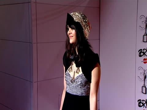 Natasha from Bat For Lashes at the The Brit Awards 2010 at London England