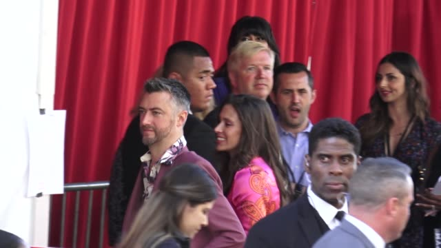 Natasha Halevi Sean Gunn arrive at the AntMan and the Wasp premiere in Hollywood in Celebrity Sightings in Los Angeles