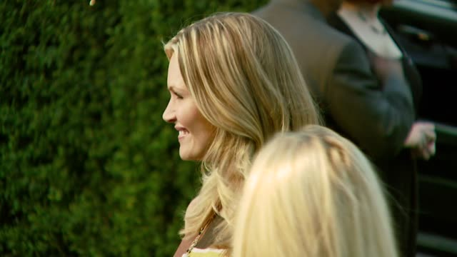 natasha henstridge at the 2007 ema awards at the wilshire ebell theatre and club in los angeles, california on october 24, 2007. - wilshire ebell theatre stock videos & royalty-free footage