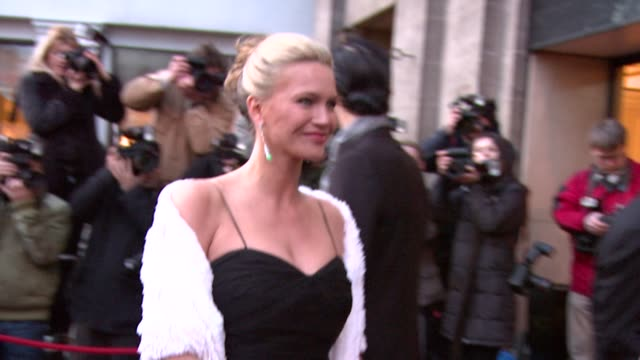 Natasha Henstridge at the The Laurence Olivier Awards at the Grosvenor House in London on March 9 2008