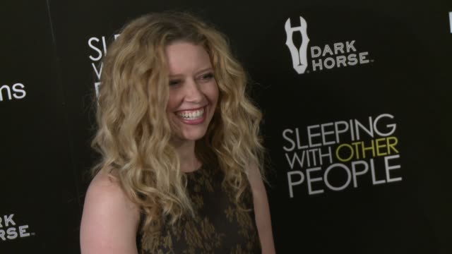"""natasha lyonne at the """"sleeping with other people"""" los angeles premiere at arclight cinemas on september 09, 2015 in hollywood, california. - arclight cinemas hollywood stock videos & royalty-free footage"""