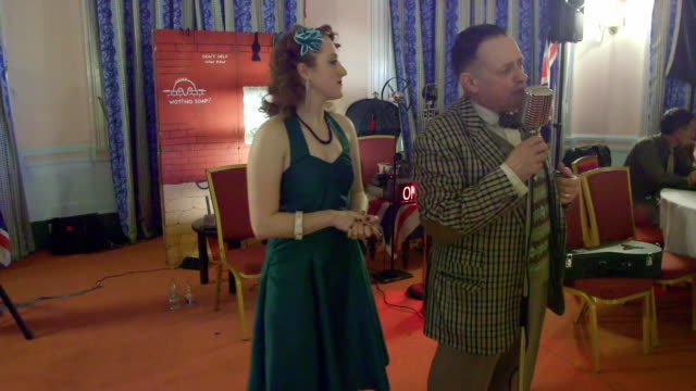 vídeos de stock e filmes b-roll de natasha paul harper grand hotel scarborough - scarborough reino unido